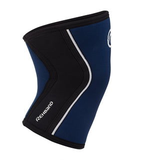 105308 - Rehband Rx Knee Sleeve - Navy/Black - 5mm - Side