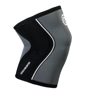 105309-01 Rehband Rx Knee Sleeve Steel Grey Black 5mm - Side
