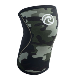 105417 - Rehband Rx Knee Sleeve - Camo - 7mm - Front
