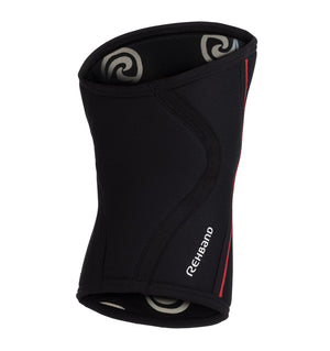 105436-02 - Rehband Rx Knee Sleeve - Black/Red - 7mm - Back