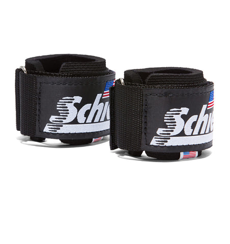 1100 Schiek Wrist Supports Straps Black Pair
