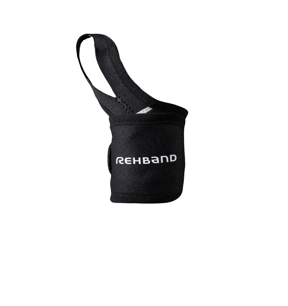 111206-01 Rehband QD Wrist & Thumb Support Black 1.5mm - Front