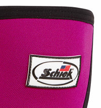 1160CF Womens Knee Sleeves Schiek Womens Rx Cross Training Knee Sleeves Pink Front Close Up