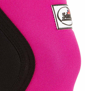 1160CF Womens Knee Sleeves Schiek Womens Rx Cross Training Knee Sleeves Pink Side Close Up