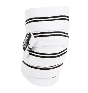 1178KWW Schiek Knee Wraps White Front