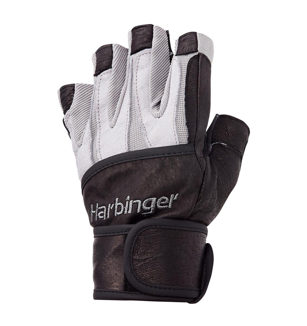 1310 Harbinger Bioform Wrist Wrap Gloves Left Top