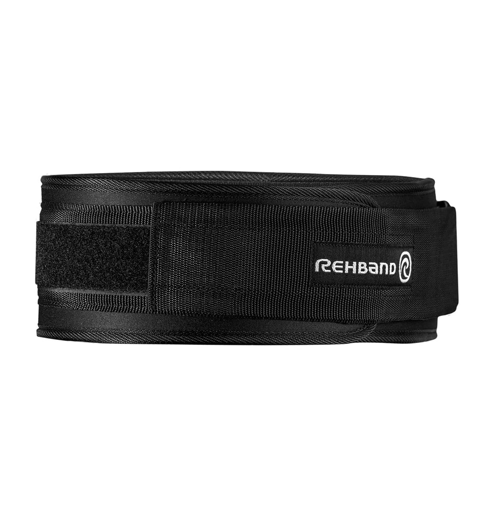 133306-01 Rehband X RX Weight Lifting Belt Black - Front