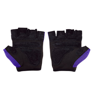 139 Harbinger Womens FlexFit Wash&Dry AntiMicrobial Glove Purple Pair Palm