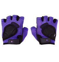 139 Harbinger Womens FlexFit Wash&Dry AntiMicrobial Glove Purple Pair Top