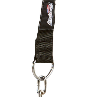 1500H Schiek Adjustable Head Harness with Chain Chain Close Up