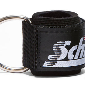 1700 Schiek Ankle Straps Cuffs Black Colour Close Up