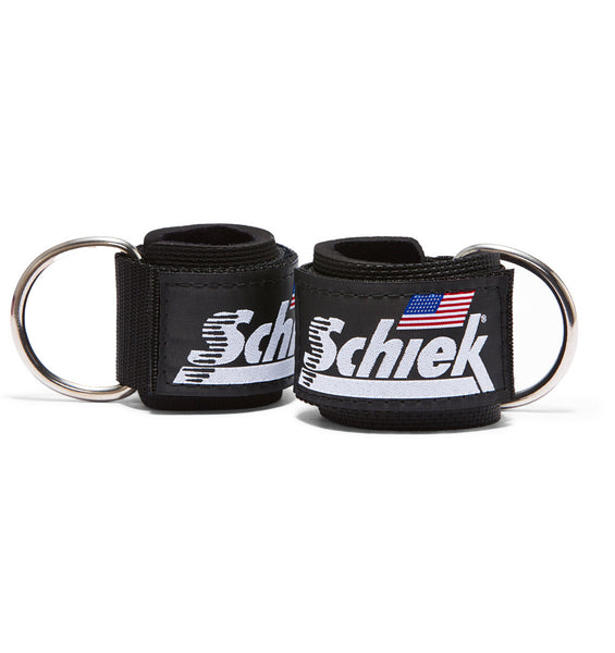 1700 Schiek Ankle Straps Cuffs Black Pair