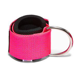 1700 Schiek Ankle Straps Cuffs Pink Back Hook Out