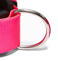 1700 Schiek Ankle Straps Cuffs Pink Hook Close Up