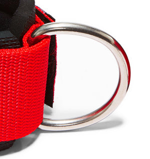 1700 Schiek Ankle Straps Cuffs Red Hook Close Up