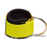 1700 Schiek Ankle Straps Cuffs Yellow Back Hook Out