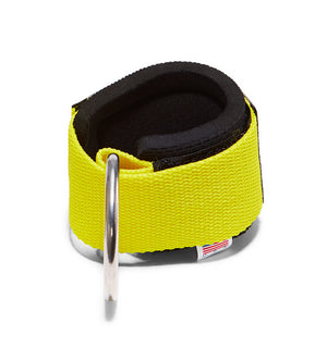 1700 Schiek Ankle Straps Cuffs Yellow Back