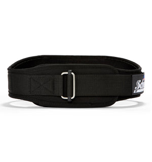 2004 Schiek Contour Weight Lifting Belt Black Front