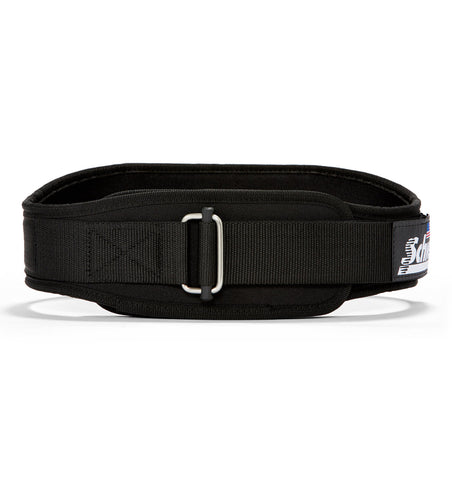 2006 Schiek Contour Weight Lifting Belt Black Front