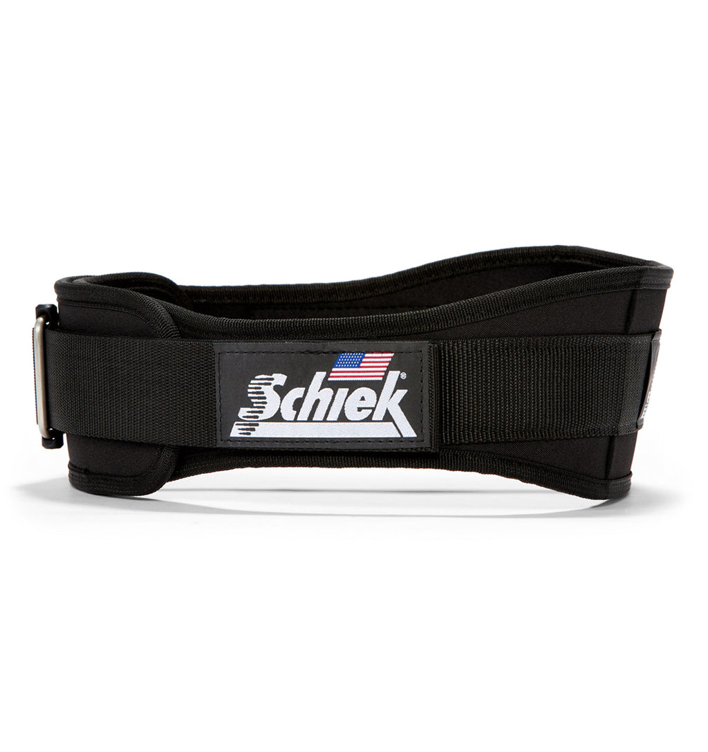 2004 Schiek Contour Weight Lifting Belt Black Side