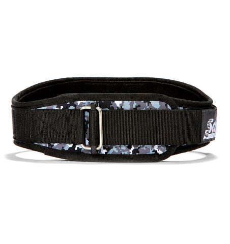 2004 Schiek Contour Weight Lifting Belt Digi Camo Front