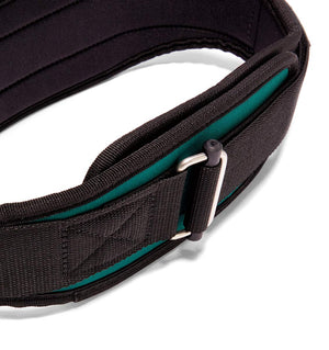 2004 Schiek Contour Weight Lifting Belt Green Buckle