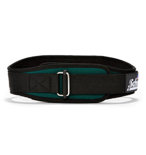 2004 Schiek Contour Weight Lifting Belt Green Front