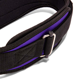 2004 Schiek Contour Weight Lifting Belt Purple Buckle