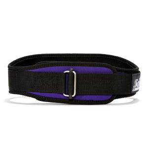 2004 Schiek Contour Weight Lifting Belt Purple Front