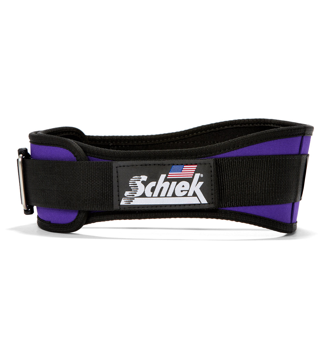 2004 Schiek Contour Weight Lifting Belt Purple Side