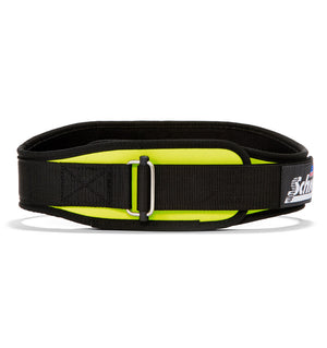 2004 Schiek Contour Weight Lifting Belt Yellow Front