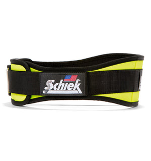 2004 Schiek Contour Weight Lifting Belt Yellow Side