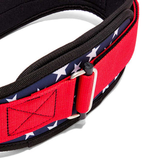 2004 Stars n Stripes Schiek Contour Weight Lifting Belt Stars and Stripes Buckle