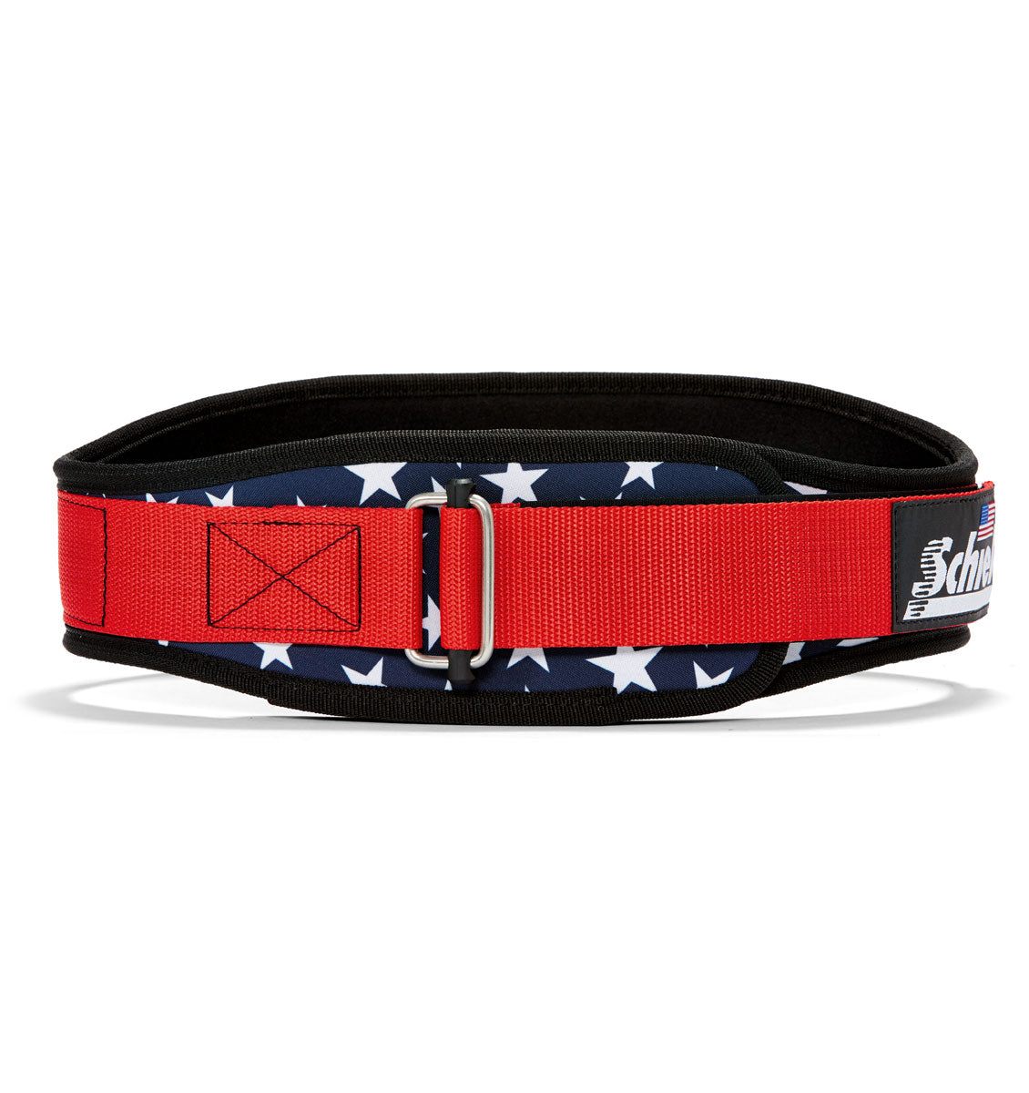 2004 Stars n Stripes Schiek Contour Weight Lifting Belt Stars and Stripes Front