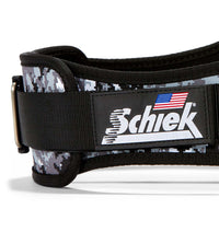 2006 Schiek Contour Weight Lifting Belt Digi Camo Side Close Up