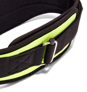 2006 Schiek Contour Weight Lifting Belt Neon Yellow Buckle