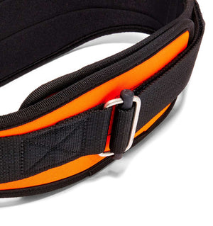 2006 Schiek Contour Weight Lifting Belt Orange Buckle