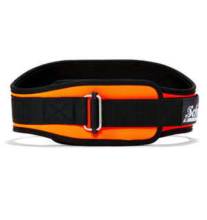 2006 Schiek Contour Weight Lifting Belt Orange Front