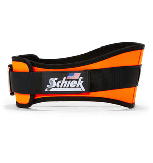 2006 Schiek Contour Weight Lifting Belt Orange Side