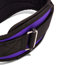 2006 Schiek Contour Weight Lifting Belt Purple Buckle