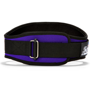 2006 Schiek Contour Weight Lifting Belt Purple Front