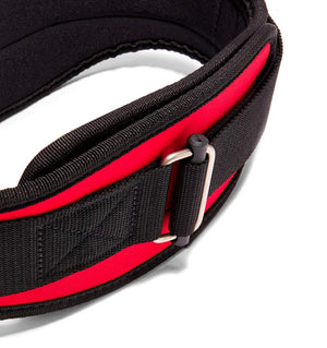 2006 Schiek Contour Weight Lifting Belt Red Buckle