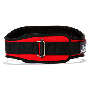 2006 Schiek Contour Weight Lifting Belt Red Front