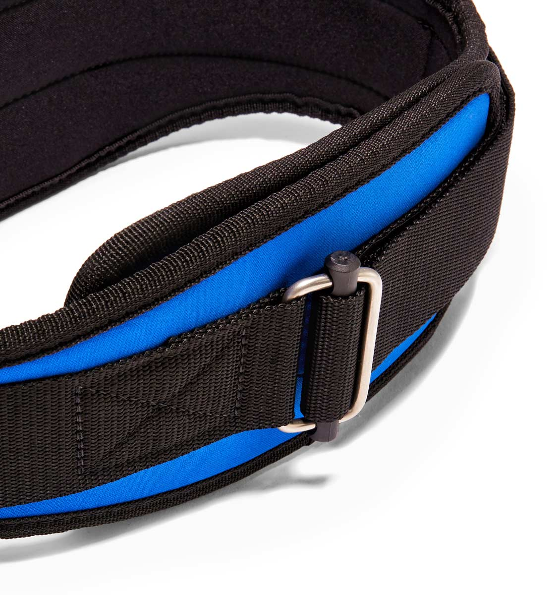 2006 Schiek Contour Weight Lifting Belt Royal Blue Buckle