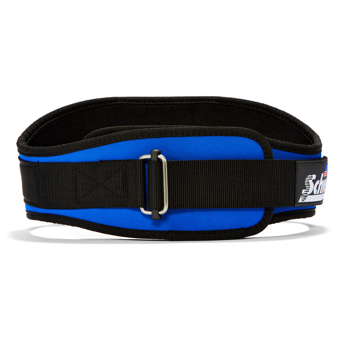 2006 Schiek Contour Weight Lifting Belt Royal Blue Front
