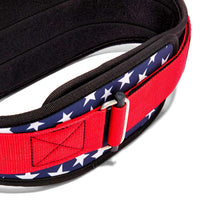 2006 Stars n Stripes Schiek Contour Weight Lifting Belt Stars and Stripes Buckle