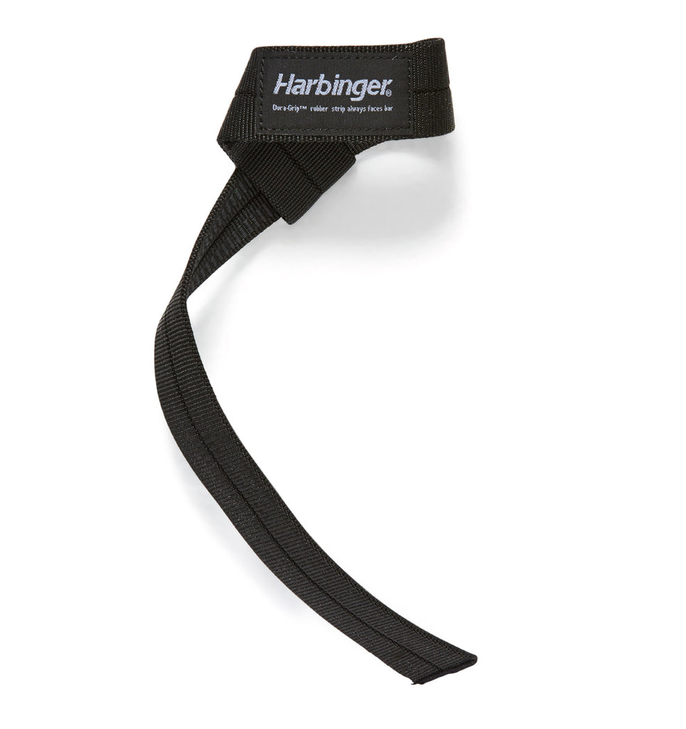20600 Harbinger Big Grip Lifting Straps Front Single