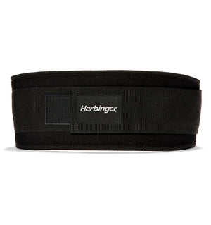 23300 Harbinger 5 inch Foam Core Mens Weight Lifting Belt Black Back