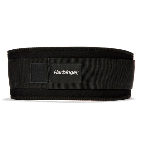 23300 Harbinger 5-inch Foam Core Mens Weight Lifting Belt Black Back