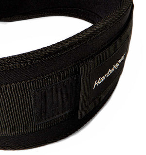 23300 Harbinger 5 inch Foam Core Mens Weight Lifting Belt Black Buckle